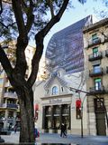 Barcelona architecture, Spain Royalty Free Stock Image