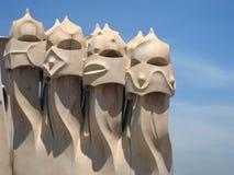barcelona architektoniczny szczegół Fotografia Stock