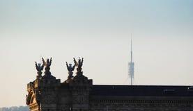 Barcelona-Architektur Lizenzfreies Stockfoto