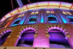Barcelona arenagalleria arkivbild