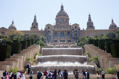 Barcelona Art Museum Stock Photo