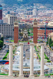 Barcelona Attractions, Plaza de Espana, Catalonia, Spain. Stock Images