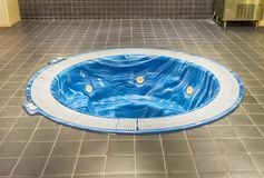 Jacuzzi in the Camp Nou stadium, Barcelona, Catalonia, Spain royalty free stock photography