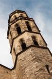 barcelona basilicadel fördärvar maria santa spain Arkivfoto