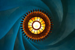 barcelona batllo casa lampy słońce Fotografia Royalty Free