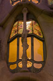 barcelona batllo casa szczegół Spain Obraz Royalty Free
