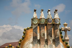 barcelona batllocasa Fotografering för Bildbyråer