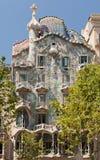 barcelona batlo casa fasada Spain Obrazy Royalty Free