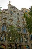 barcelona battlo casa obrazy royalty free