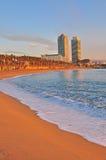 Barcelona beach Royalty Free Stock Image