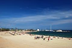 Barcelona beach Stock Photo