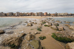 Barcelona beach in spain. A barcelona beach in spain Royalty Free Stock Photography