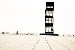 Barcelona beacht tower Stock Images