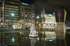 Barcelona. Bercelona catalonia spain down town Stock Photo
