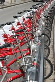 Barcelona bicycles Royalty Free Stock Photo