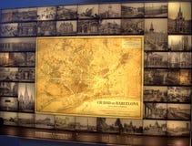 Barcelona bildskärm Arkivbilder