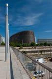 barcelona biomedical parkforskning royaltyfria bilder