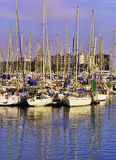 Barcelona Boat Harbor, Spain Stock Photography