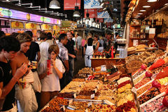Barcelona - Boqueria Stock Photo