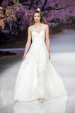 BARCELONA BRIDAL FASHION WEEK - INMACULADA GARCIA CATWALK Stock Photography