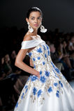 BARCELONA BRIDAL FASHION WEEK - NAEEM KHAN CATWALK Stock Image