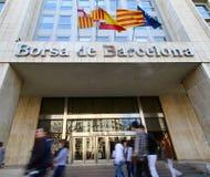 Barcelona-Börse Lizenzfreies Stockfoto