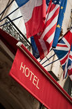 barcelona budynek fasadowy nowoczesny hotel Hiszpanii Zdjęcia Royalty Free