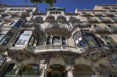 Barcelona Building Stock Image