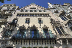 Barcelona Building Royalty Free Stock Image