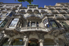 Barcelona Building Stock Image