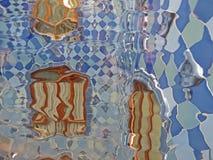 Barcelona buildings streets and Antoni Gaudi city beauty. Spring vacation. Sun. Art. Catalonia. Spain Stock Images