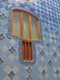 Barcelona buildings streets and Antoni Gaudi city beauty Royalty Free Stock Photo