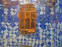 Barcelona buildings streets and Antoni Gaudi city beauty. Spring vacation. Sun. Art. Catalonia. Spain Stock Image
