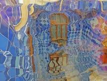 Barcelona buildings streets and Antoni Gaudi city beauty. Spring vacation. Sun. Art. Catalonia. Spain Royalty Free Stock Image
