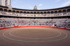 Barcelona Bullfighting Stadium Stock Image