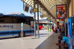 Barcelona Bus Terminal Estacio Nord Royalty Free Stock Photography
