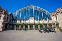 Barcelona Bus Terminal Estacio Nord Royalty Free Stock Images