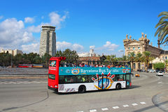 Barcelona Bus Touristic Stock Image