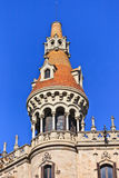barcelona byggnad Royaltyfri Fotografi