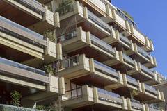 barcelona byggnad Arkivbilder