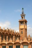 barcelona caixafora Royaltyfri Bild