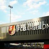 Barcelona. Camp no Messi royalty free stock photos