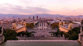 Barcelona is the capital and largest city of Catalonia, as well as the second most populous municipality of Spain stock image