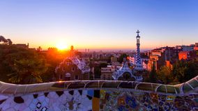 Barcelona is the capital and largest city of Catalonia, as well as the second most populous municipality of Spain stock photography