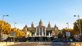 Barcelona is the capital and largest city of Catalonia, as well as the second most populous municipality of Spain royalty free stock photography
