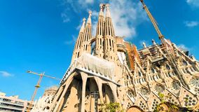 Barcelona is the capital and largest city of Catalonia, as well as the second most populous municipality of Spain royalty free stock photo