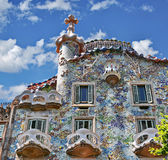 Gaudi House Stock Photography