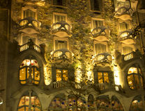 Barcelona. The Casa Batllo. Royalty Free Stock Photos