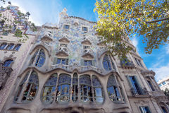 Barcelona Casa Batllo Royalty Free Stock Photo