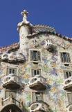 BARCELONA. Casas Batllo Fotografia de Stock Royalty Free
